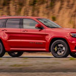 2018 Jeep Trackhawk ready for the track.